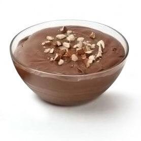 Budino al gusto di cioccolato