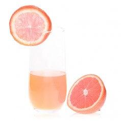 Bevanda al gusto di arancia e pompelmo