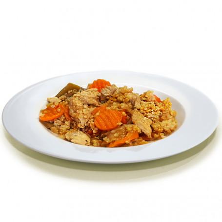 Piatto cucinato Pollo orientale e quinoa MinceurD