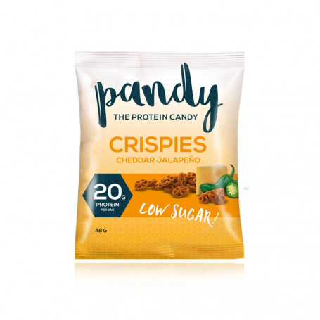 Pandy Crispies proteici salati al gusto di Cheddar piquante all'unità