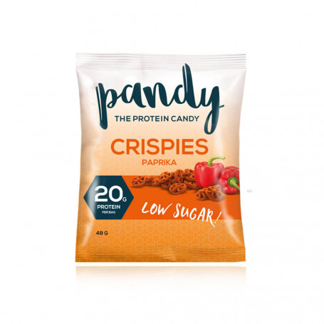 Pandy Crispies proteici salati al gusto di Paprika all'unità