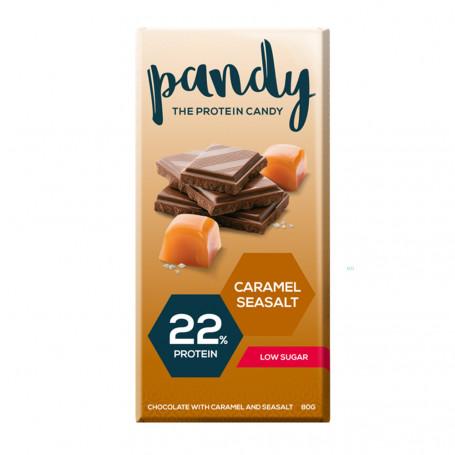 Pandy Tavoletta di Cioccolato proteica al caramello salato all'unità
