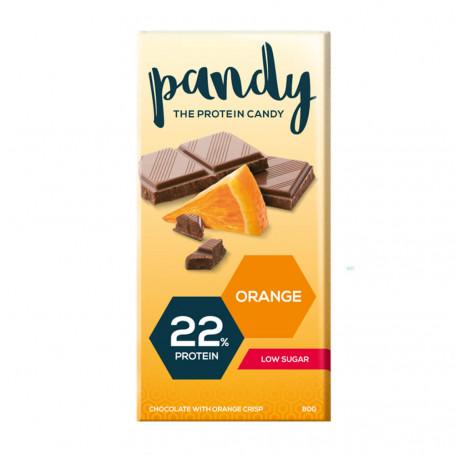 Pandy Tavoletta di Cioccolato proteica al arancia all'unità