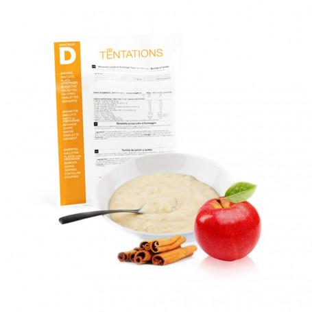 Porridge alla mela e cannella