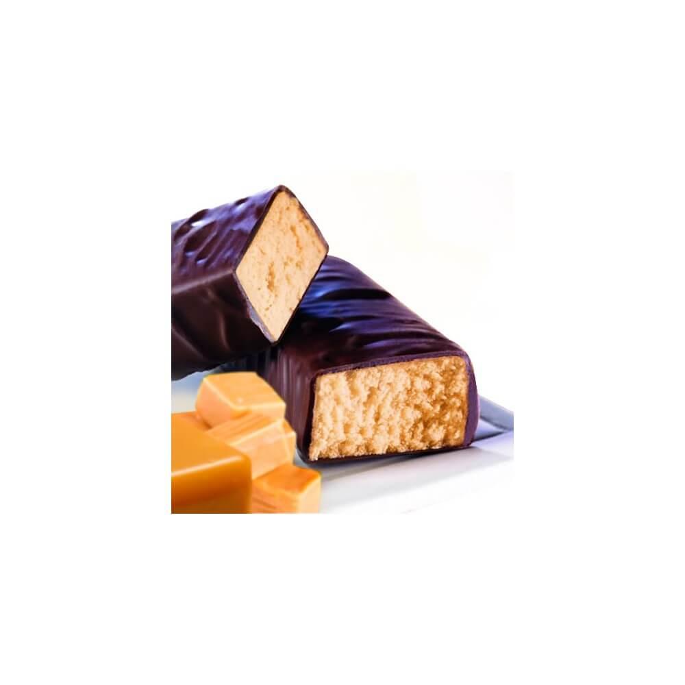 Barrette proteiche al gusto di caramello Prolinea