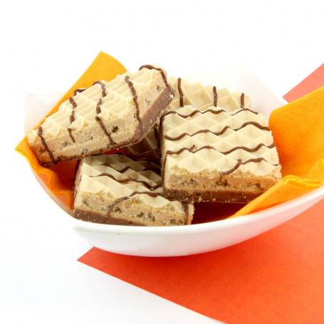 Wafer Iperproteico alla cioccolato alle nocciole