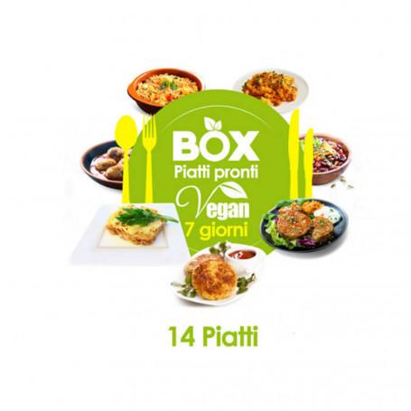 Box 7 giorni VEGAN - Senza Glutine MinceurD