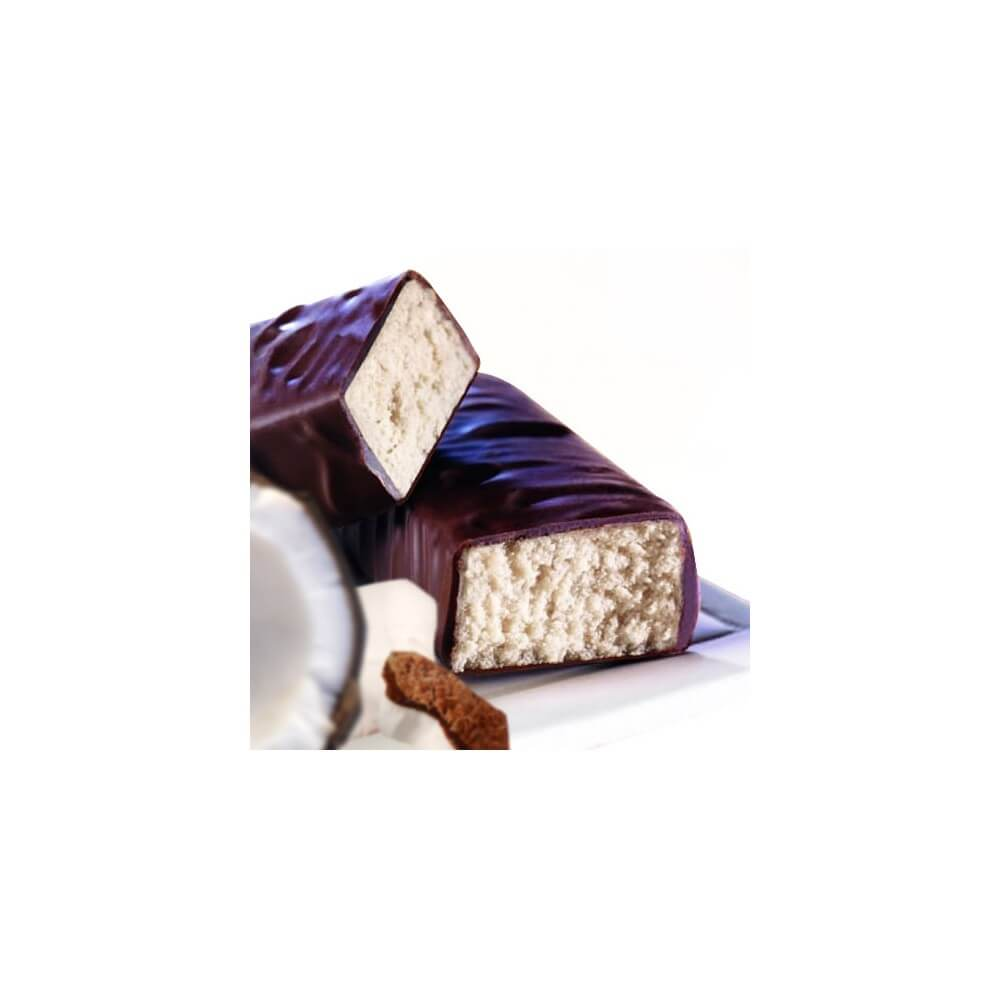 Barrette proteiche praline di cioccolato e cocco Prolinea