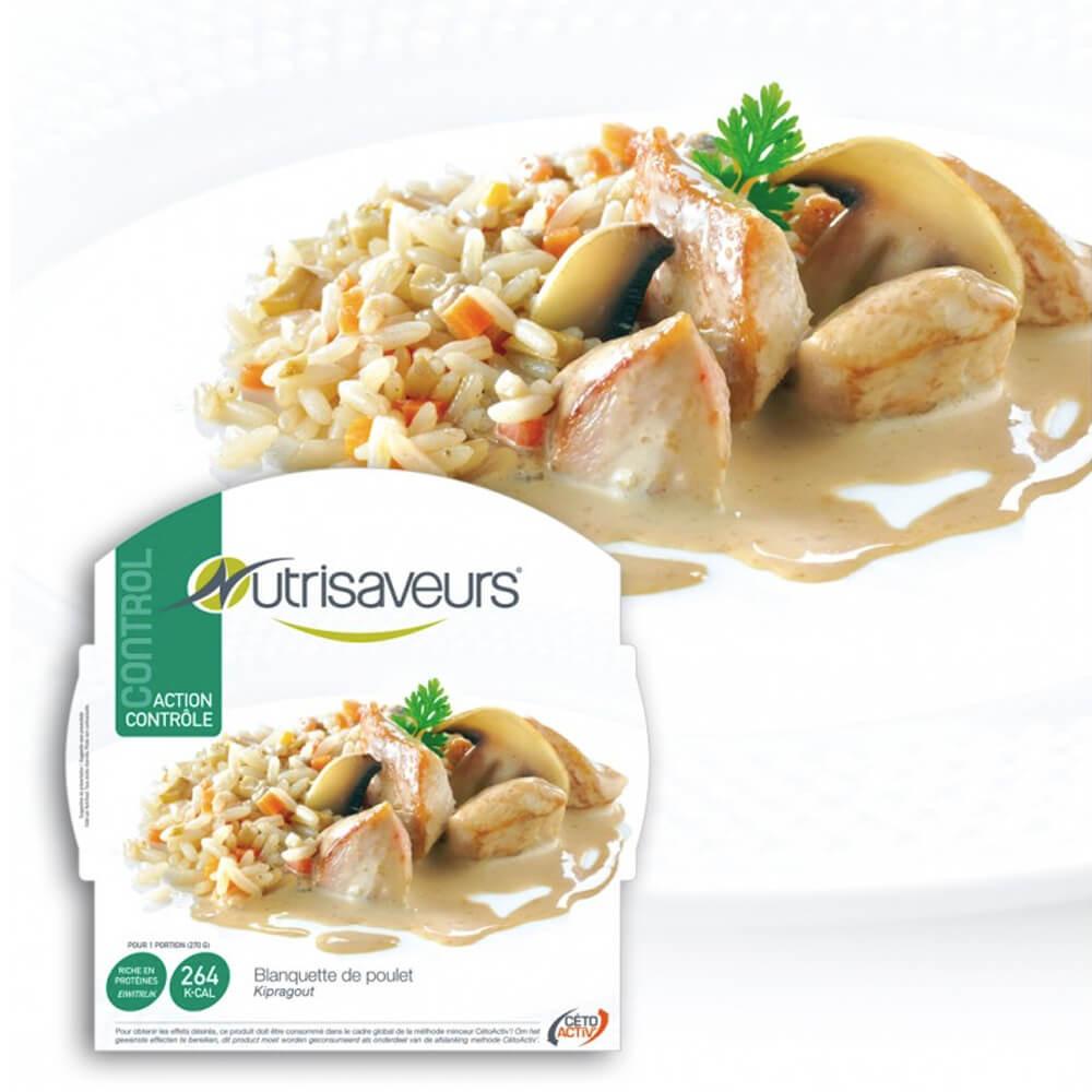 Piatto proteico Blanquette di pollo Nutrisaveurs
