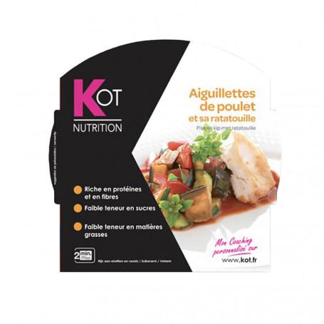 Piatto Proteico Filetto di pollo con ratatouille KOT