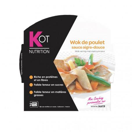 Piatto Proteico Wok di pollo in salsa agrodolce KOT