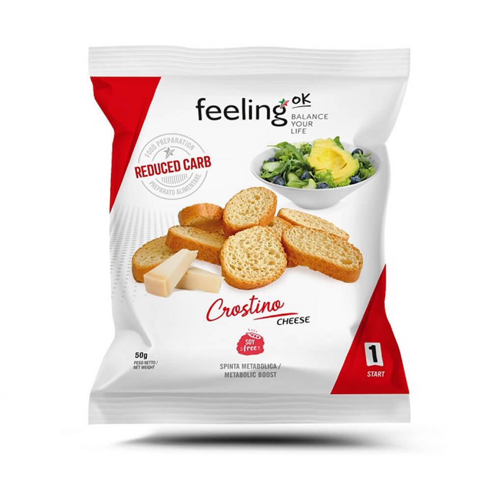 Crostino proteico Cheese FeelingOK