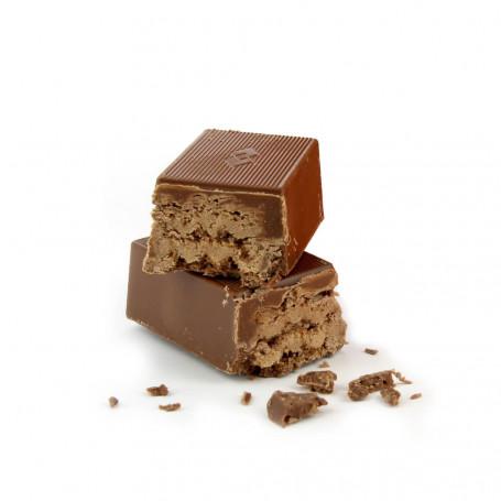 Barrette proteiche Wafer al cioccolato 7 barrette DIETISNACK