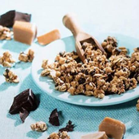 Müesli al cioccolato e al caramello