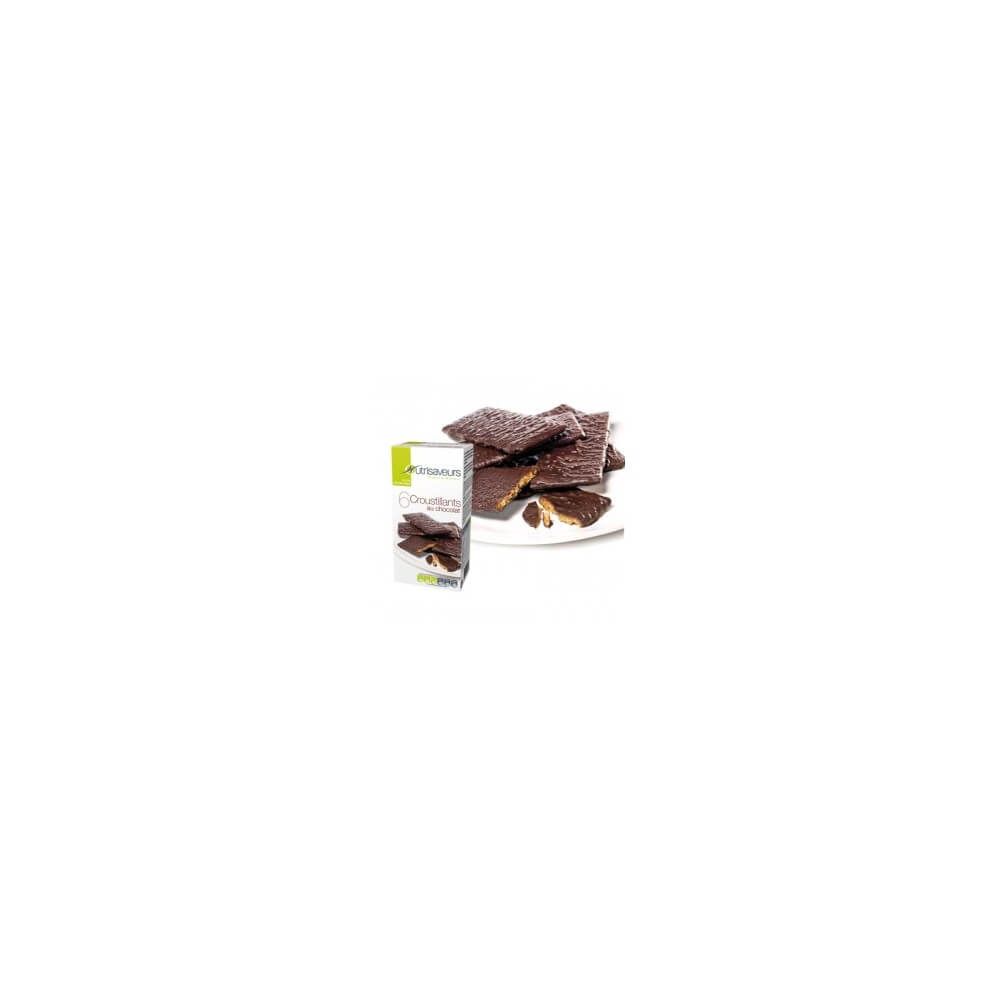 Croccanti proteici al cioccolato Nutrisaveurs
