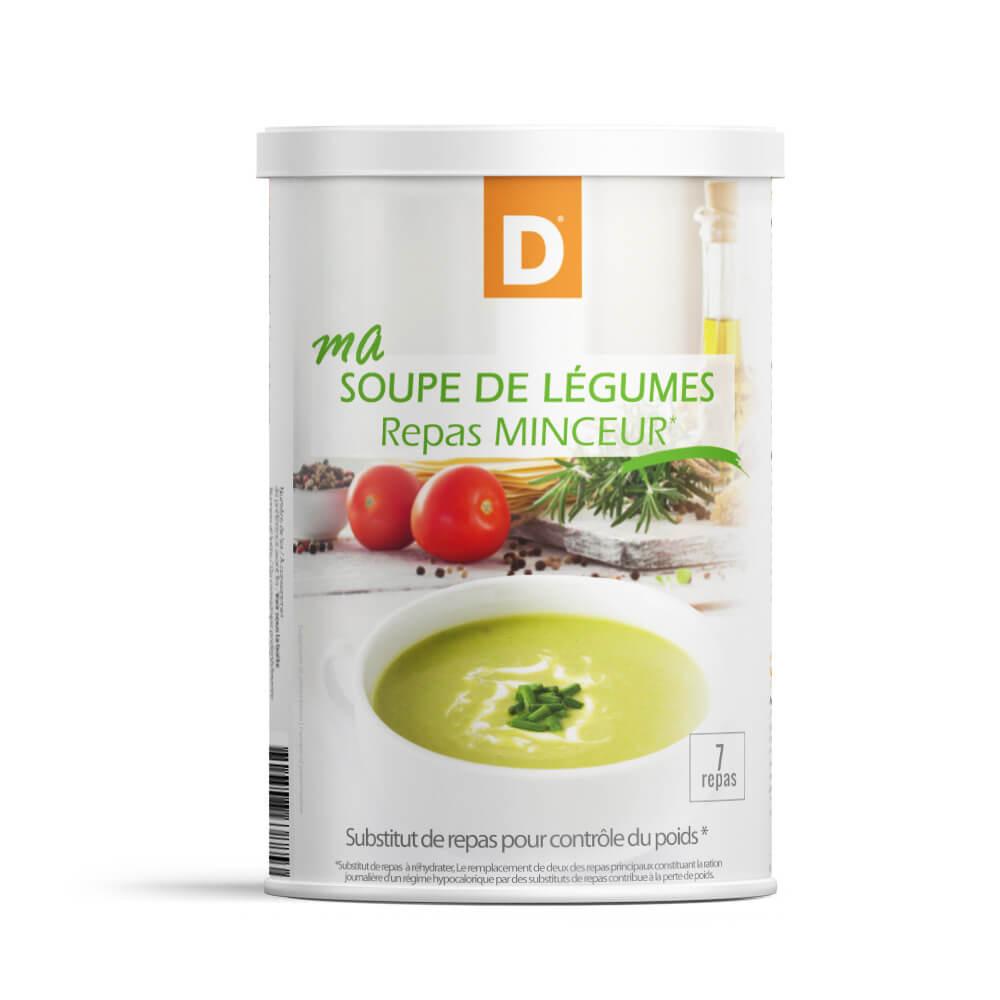 Il mio pasto Zuppa di verdure MinceurD