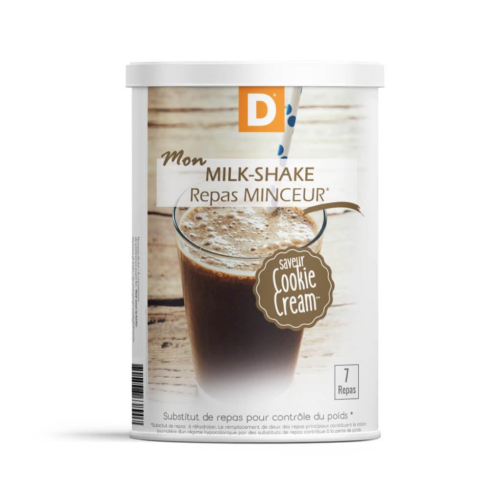 Milk shake sostitutivo del pasto al gusto di Cookie Cream MinceurD