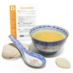 Zuppa Thaï iperproteica