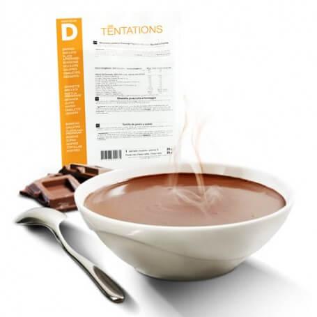 Top Bevanda al cioccolato caldo Iperproteica - Bustina da 7 sacchetti  MO97
