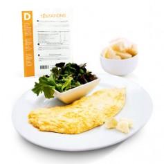 Omelette al formaggio iperproteiche MinceurD