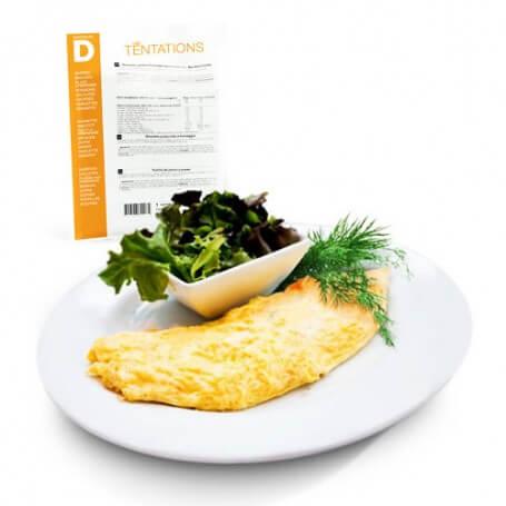 Omelette alle erbe aromatiche