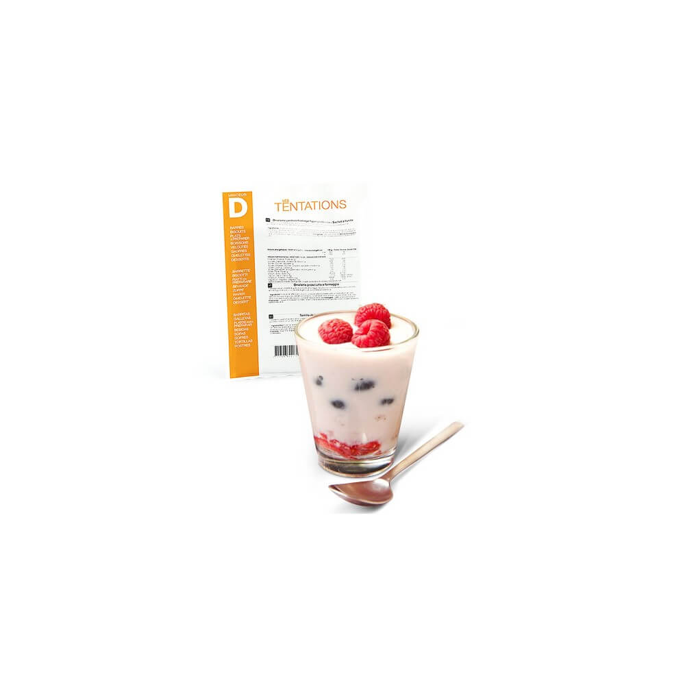 Yogurt ai frutti di bosco iperproteico 7 bustine MinceurD