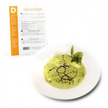 Zuppa di verdure e crescione