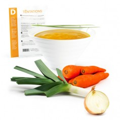 Vellutata iperproteica alle 3 verdure MinceurD