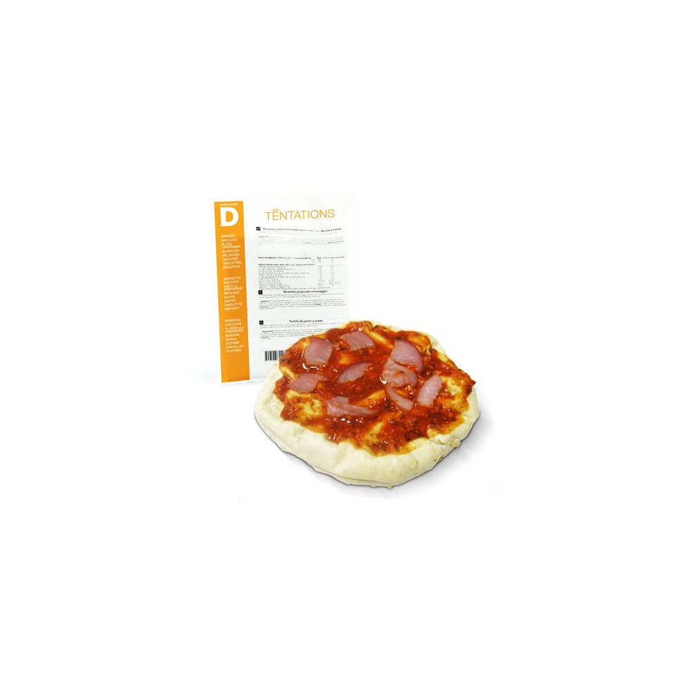 Kit per Pizza proteica Pomodoro e Formaggio 5 bustine MinceurD