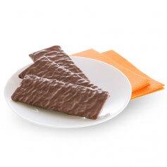 Croccante ricoperto di cioccolato fondente