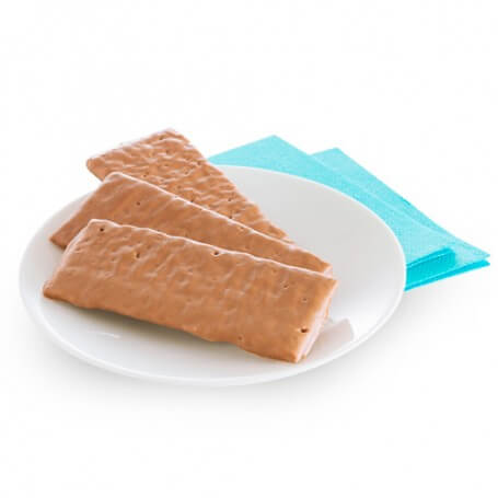 Croccante ricoperto di cioccolato al latte