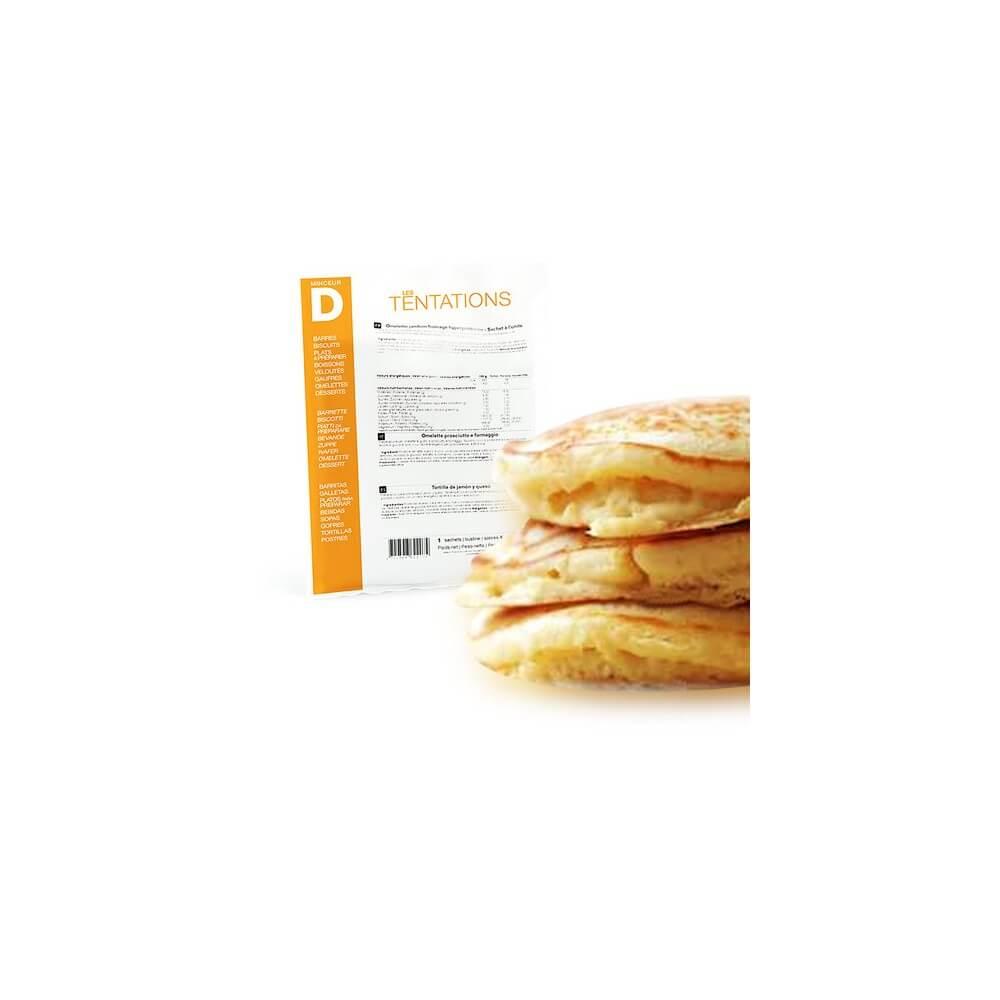 Pancake al naturale iperproteico 7 bustine MinceurD