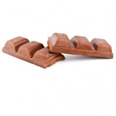Tavoletta di Cioccolato Nero Pralinata proteica