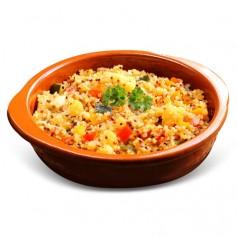Tabulè di Quinoa Vegetariano