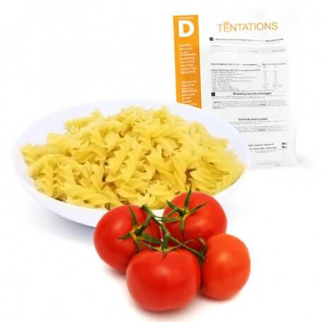 Fusilli con salsa al pomodoro