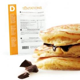 Pancake e crema di cioccolato
