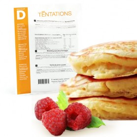 Pancake e gelatina di lamponi