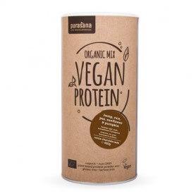 Proteine di PiselloRisoSemi di ZuccaGirasoleCanapa Bio gusto Cacao Cioccolato
