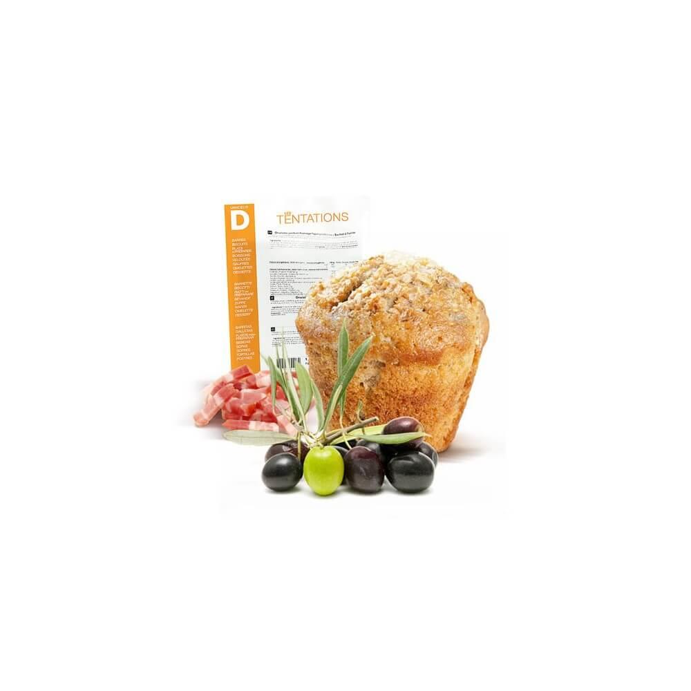 Cake Bacon Olive iperproteico 7 bustine MinceurD