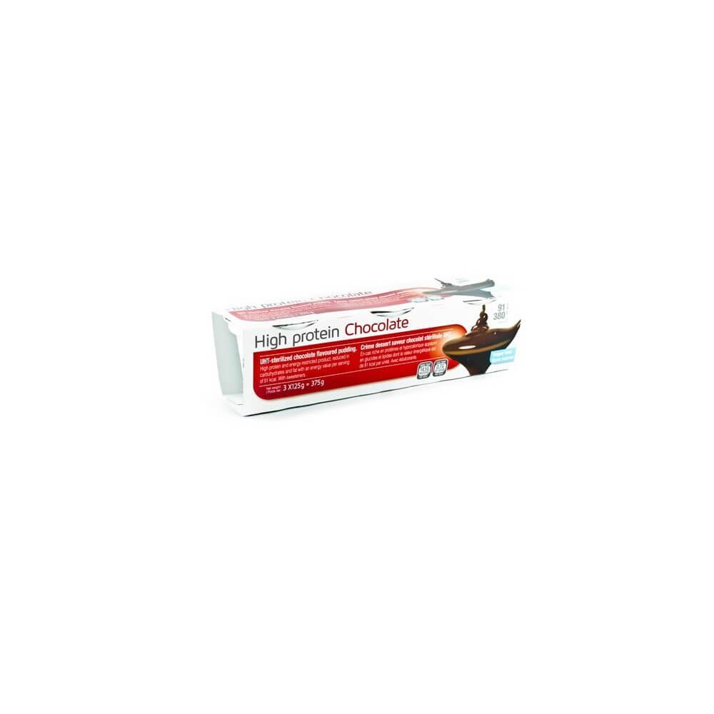 Creme proteiche Cioccolato 3 vasetti MinceurD