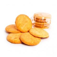 Biscotti con pezzetti di arancia candita