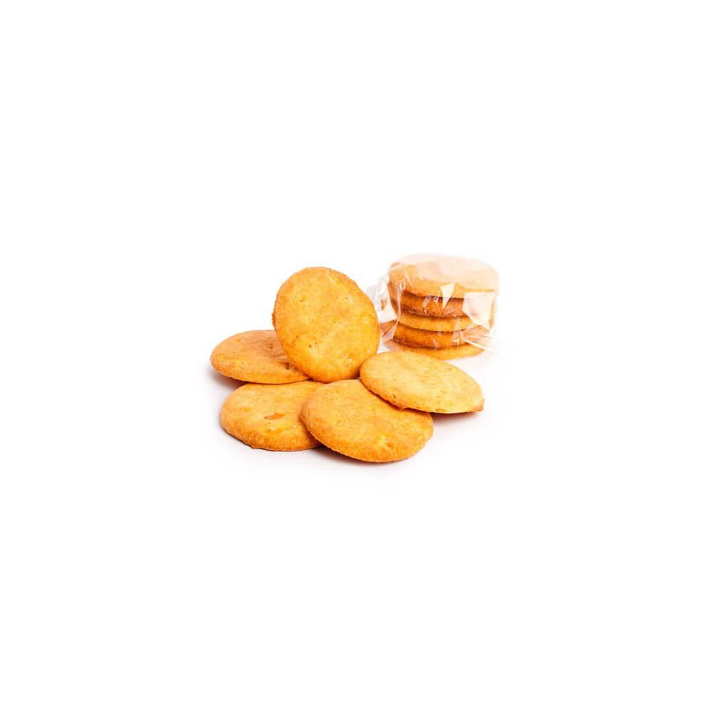 Biscotti iperproteici con pezzetti di arancia candita Liothyss Nutrition
