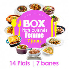 Box 7 giorni DONNA - Senza Glutine MinceurD