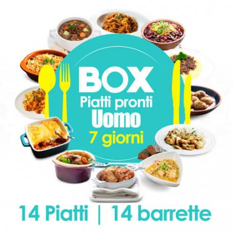 Box 7 giorni UOMO - Senza Glutine MinceurD