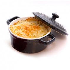 Sformato di patate iperproteico