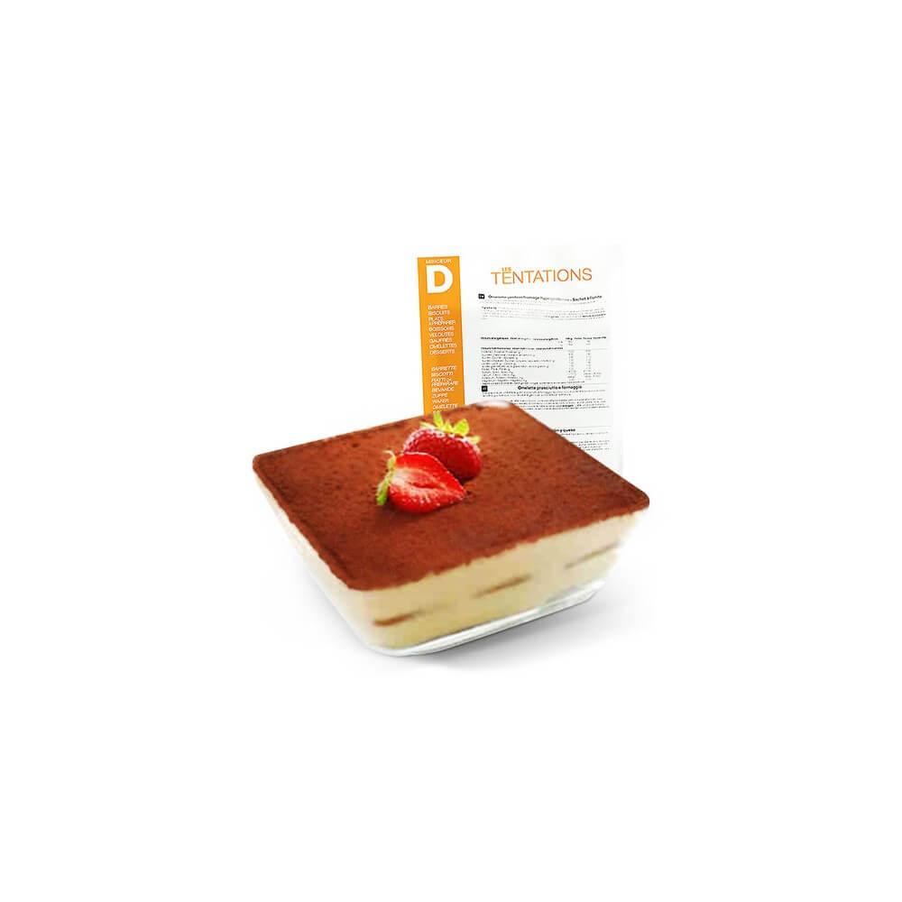Budino gusto Tiramisu iperproteico 7 bustine MinceurD
