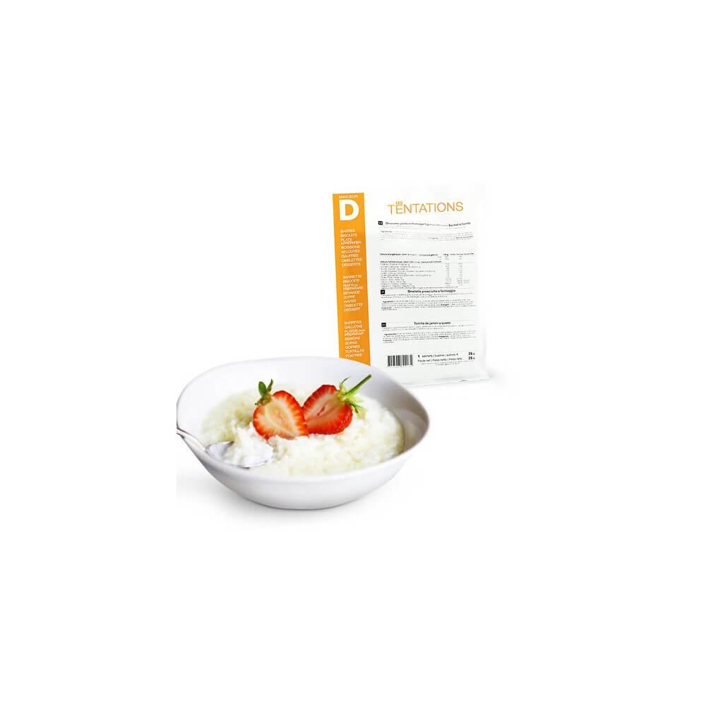 Crema di riso al latte iperproteica 7 bustine MinceurD