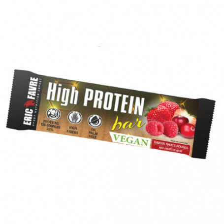 High Protein Barre Fruits Rouges Vegan