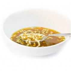Brodo asiatico proteico con noodle - MinceurD