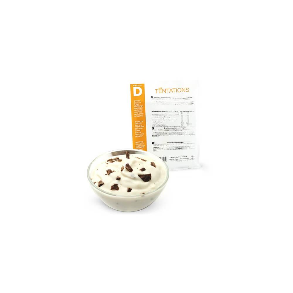 Yogurt Stracciatella iperproteico 7 bustine MinceurD